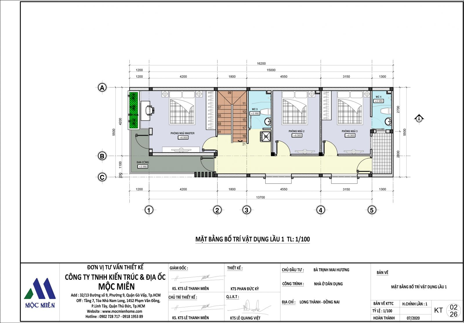 cần hồ sơ thiết kế trước khi xây nhà